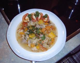 gemüsesuppe italienisch