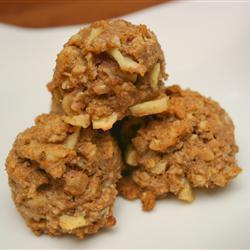 gesunde haferflocken cookies mit apfel