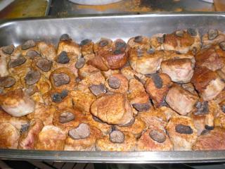 getrüffelte schweinefiletmedaillons
