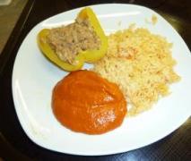 gladdy88 gefüllte paprika mit sojaschnetzel lec