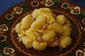 gnocchi im parmesanmantel
