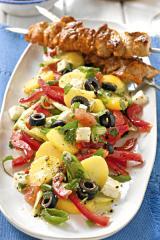 griechischer pellkartoffel salat