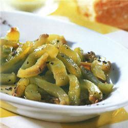 grüner paprikasalat aus portugal
