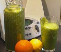 grüner powerdrink green smoothie