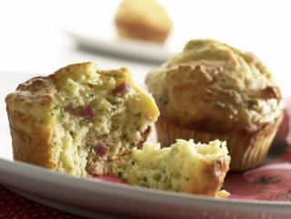 gruyére muffins