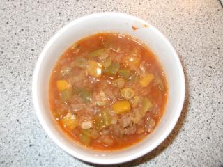 gulaschsuppe mit paprika
