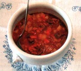 gulaschsuppe mit tabasco