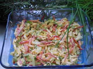 gurken paprika salat