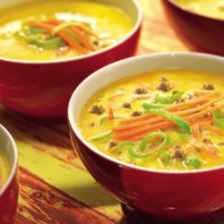 hackfleisch lauch suppe