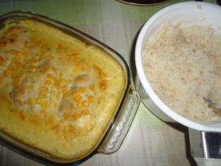 hähnchenbrust amp quot hawaii amp quot in senf mais soße
