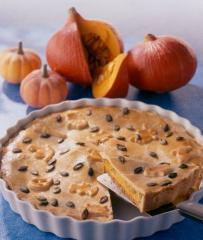 halloween kürbis pie