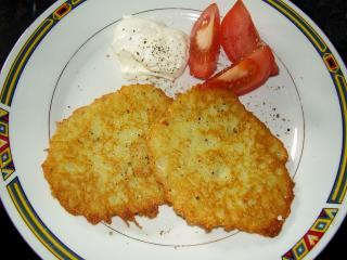 hausgemachte kartoffelrösti