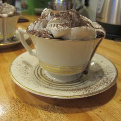 heiße schokolade mit rum