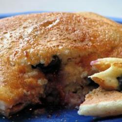 heidelbeer pfannkuchen ohne ei