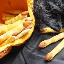 herzhafte hexenfinger halloween fingerfood