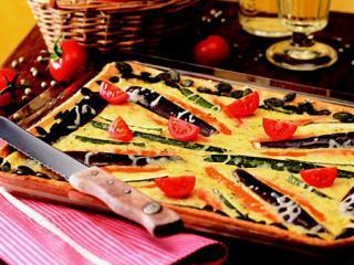 herzhafter gemüse kuchen