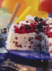 himbeer brombeer torte