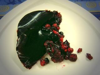 holundersaft dessert