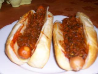 hot dogs mit kraut