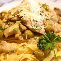hühnertopf mit oliven