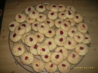 husaren blicke weihnachtsplätzchen mit marmelade