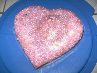 i love you kuchen