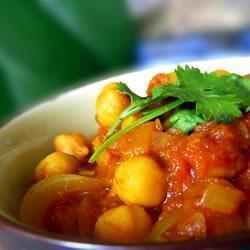 indische kichererbsen mit curry cholay