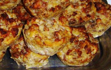 italienische käsemuffins