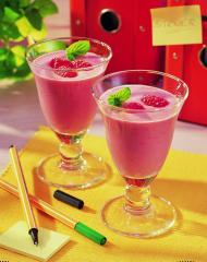 joghurt himbeer smoothie