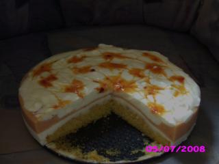 joghurt pfirsich torte