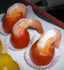 kamikaze garnelen fingerfood