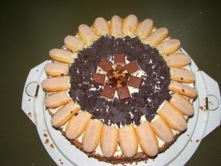 karamell amaretto torte