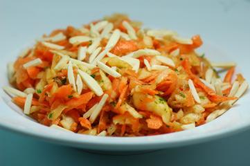 karotten apfel salat