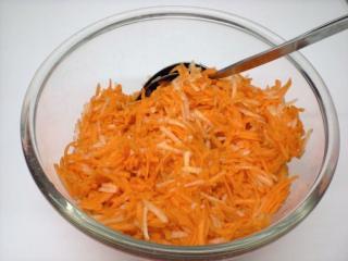 karotten birnen salat