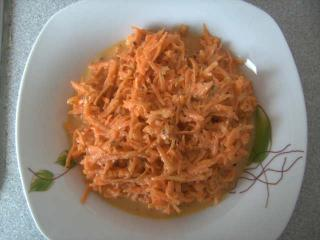 karottensalat mit zitrone