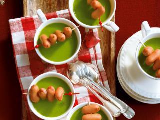 kartoffel erbsen suppe