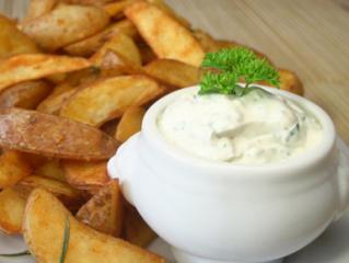 kartoffeln mit sour cream
