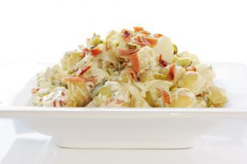 kartoffelsalat mit schwarzwurzeln
