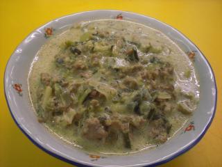 käse lauch hackfleisch suppe