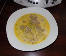käse lauch suppe