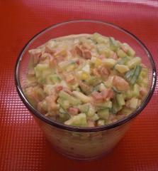käse nudel salat