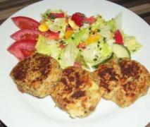 käspressknödel mit salat oder als suppeneinlage