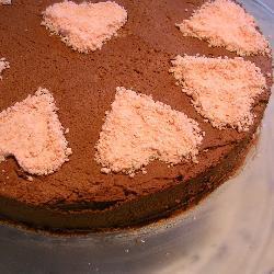 kastanien schokomousse torte mit knusper baiserschicht