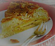 kinder bananen cornflakes kuchen