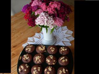 kirsch mandel schoko muffins