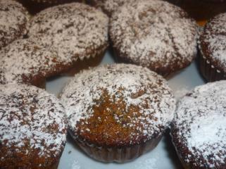 kirsch mohn muffins