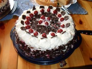 kirsch schokoladen kuchen