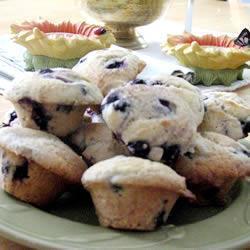 klassische blueberry muffins
