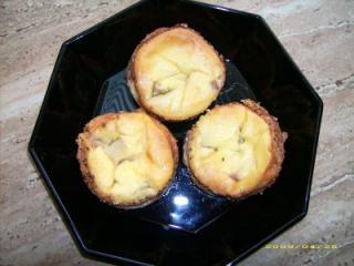 kleine rhabarber quark kuchen aus dem glas