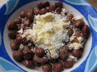 knusperfrühstück schoko kokos